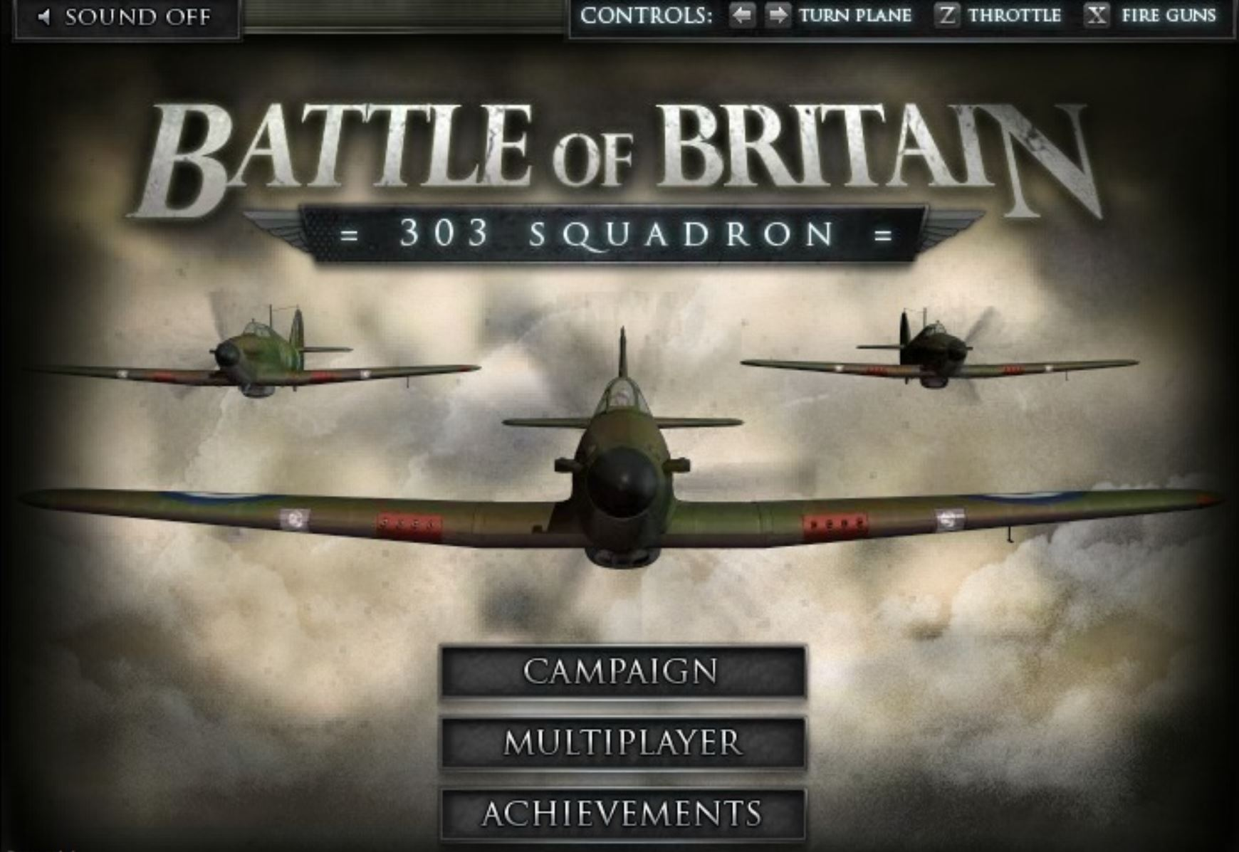Battle of Britain - 303 Squadron hacked