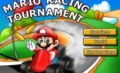 Mario Racing Tournament hacked